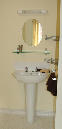 Bathroom at Adelaide Lodge carehome