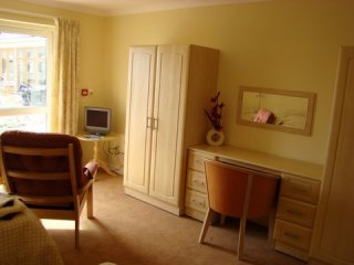 bedroom at Adelaide Lodge carehome
